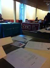 Photo: Hollaback! Boston table at Harvard University