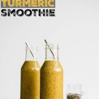 Coffee Turmeric Smoothie.