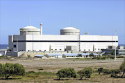 A view of South Africa's Koeberg Nuclear Power Station, 30km north of Cape Town.