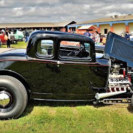 Good Vibes by Benito Flores Jr - Transportation Automobiles ( car, austin, black, travis expo, car show, texas )