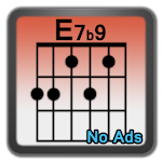 Learn Advanced Chords -AdFree Icon
