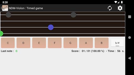 NDM - Screenshots der Violine (Lesen der Notenschrift lernen) 1