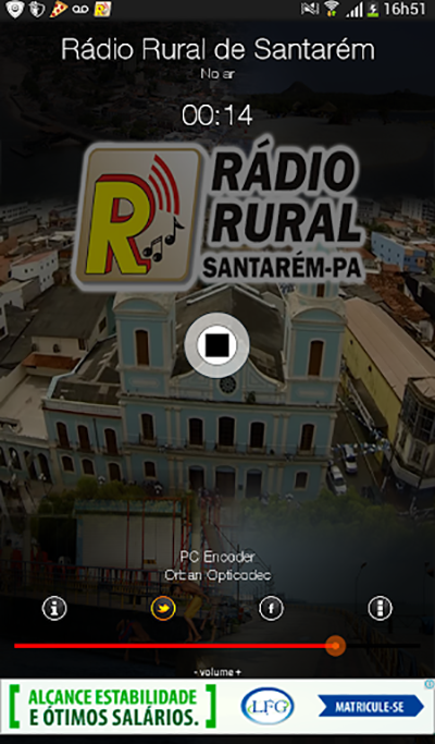 Rádio Rural de Santarém- screenshot