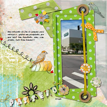 Photo: Through my window by ValC Fonts Forte and Showcard Gotic PS CS5