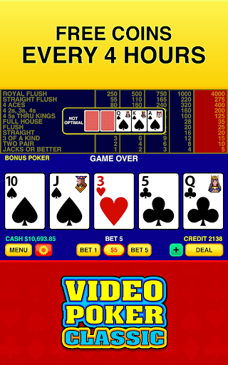 Video Poker Classic Free  screenshots 4