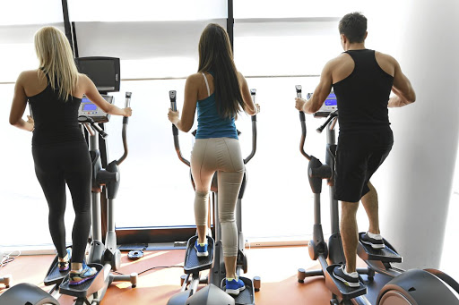 Step in right direction:  The elliptical cross-trainer can be used in high-intensity interval training. Picture: ISTOCK