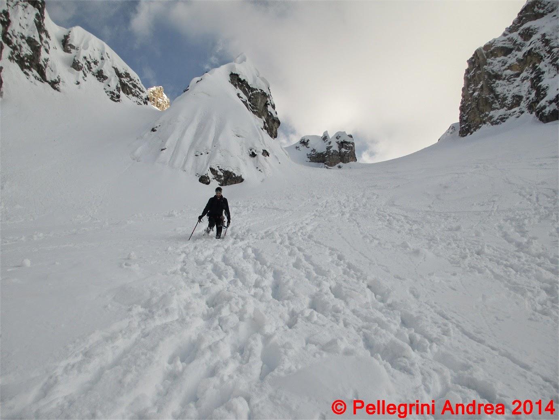 Photo: IMG_7202 Nicola in discesa nel Valon dei Cavai