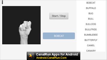 Screenshot of Finger Spell ASL