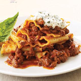 Lasagna Toss with Veggies