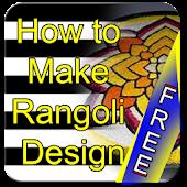 How To Make Rangoli Design