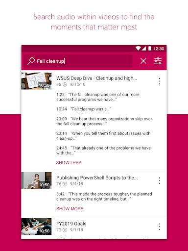Microsoft Stream screenshot 13
