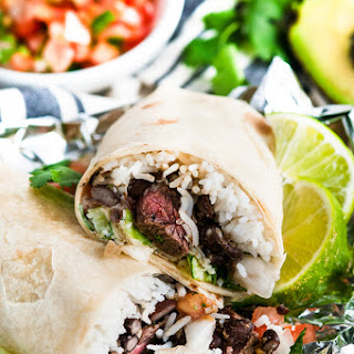 Copycat Chipotle Steak Burritos.