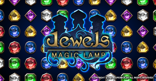 Jewels Magic Lamp : Match 3 Puzzle apkpoly screenshots 2