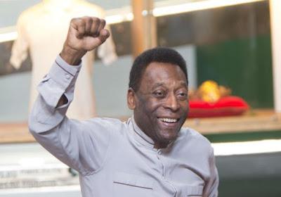 Exact 60 jaar geleden toonde Pelé zijn kunstjes tegen Beerschot op het Kiel