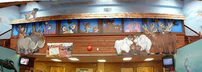Noah's Ark - Mural