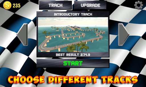 Racing stunts by car. Extreme racing. 3.6 screenshots 8