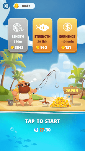 Fishing Journey - Win Gift & Reward  captures d'écran 1
