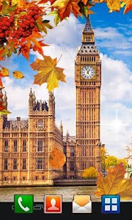 Autumn London live wallpaper - náhled