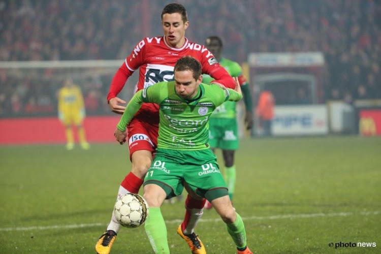 Chanot Kage Mercier Buyl Marusic KV  Kortrijk Zulte Waregem