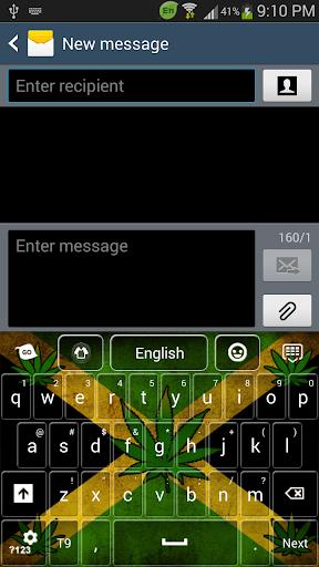 Rasta Jamaica Keyboard