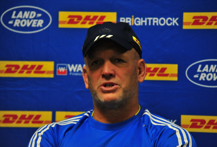 John Dobson (Head Coach) during the DHL Western Province press conference at DHL Newlands Stadium on August 29, 2018 in Cape Town, South Africa.
