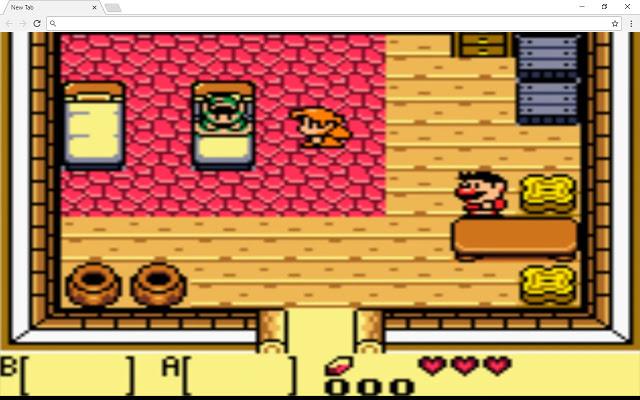 Legend Of Zelda Link's Awakening New Tab