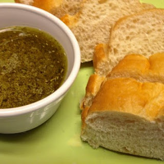 Olive Oil And Herb Dipping Sauce.