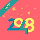 العاب 2048 ,numbers game 2048 tile free  no wifi file APK Free for PC, smart TV Download