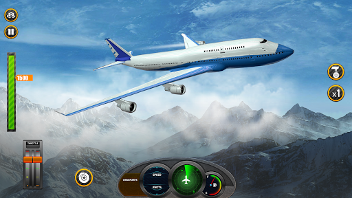 Airplane Real Flight Simulator 2020: Pro Pilot 3d  screenshots 16