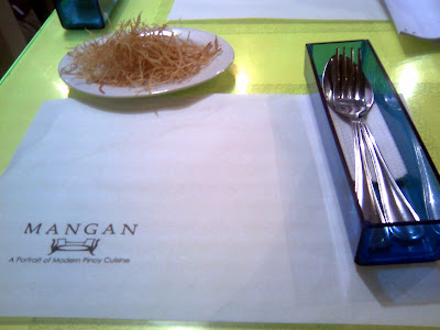 Mangan Restaurant at Glorietta