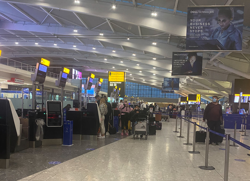 Heathrow Terminal 5 departures