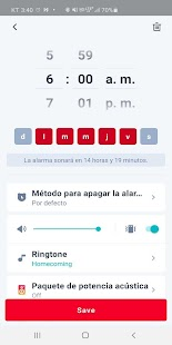 Alarma Despertador - Alarm Clock Alarmy Screenshot