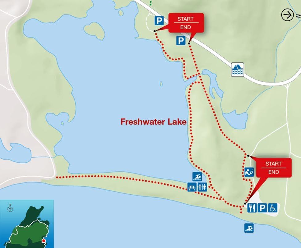 Freshwater Lake, Park Narodowy Cape Breton Highlands