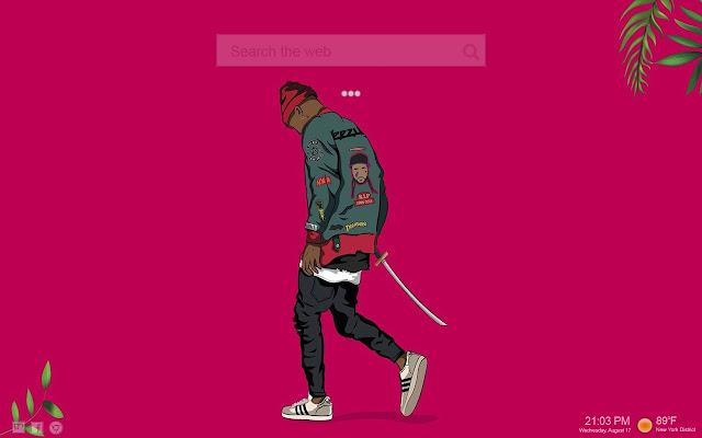 Inspired Yeezy Adidas Supreme Bape Dope Hd Newtab Extore Space