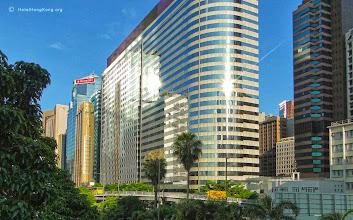 Photo: Modern buildings Hong Kong