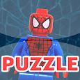 Puzzles Lego Spider Man