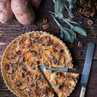 Sweet Potato Tart.
