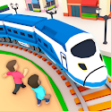 Idle Sightseeing Train - Game of Train Transport icon