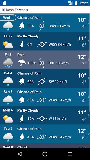 Weather Switzerland XL PRO screenshot 6