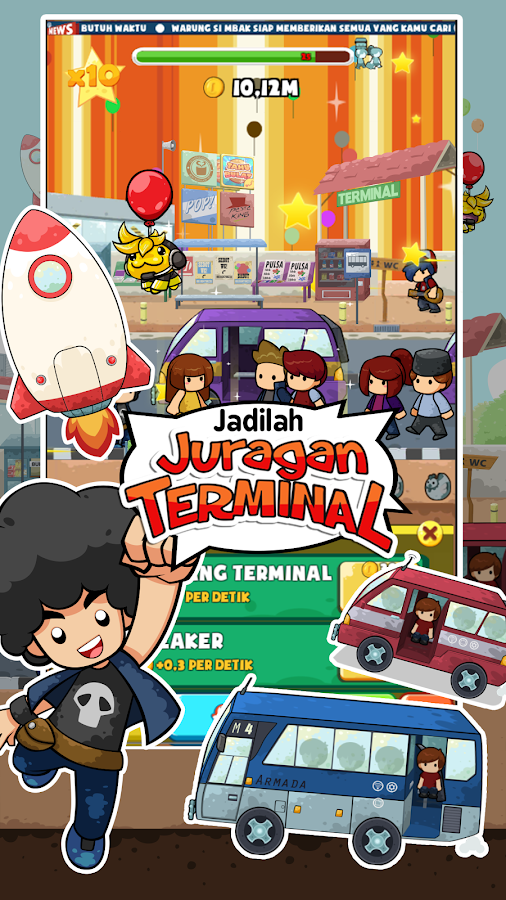Juragan Terminal- screenshot