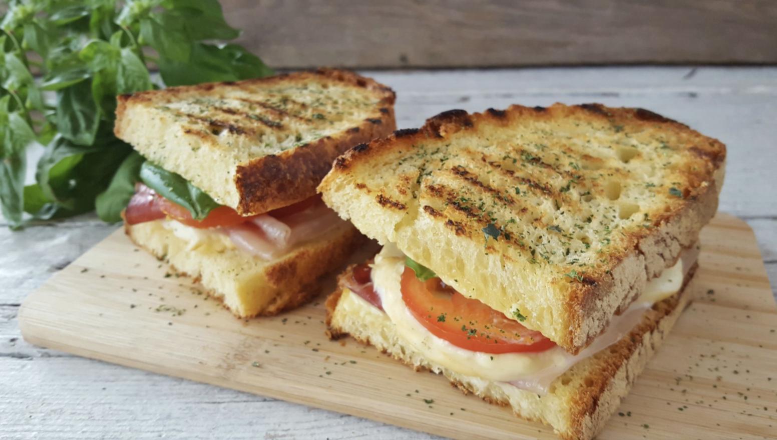 La zingara sandwich: perfection in a very simple recipe