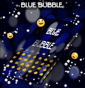 Blue Bubble Keyboard Skin for PC-Windows 7,8,10 and Mac apk screenshot 3