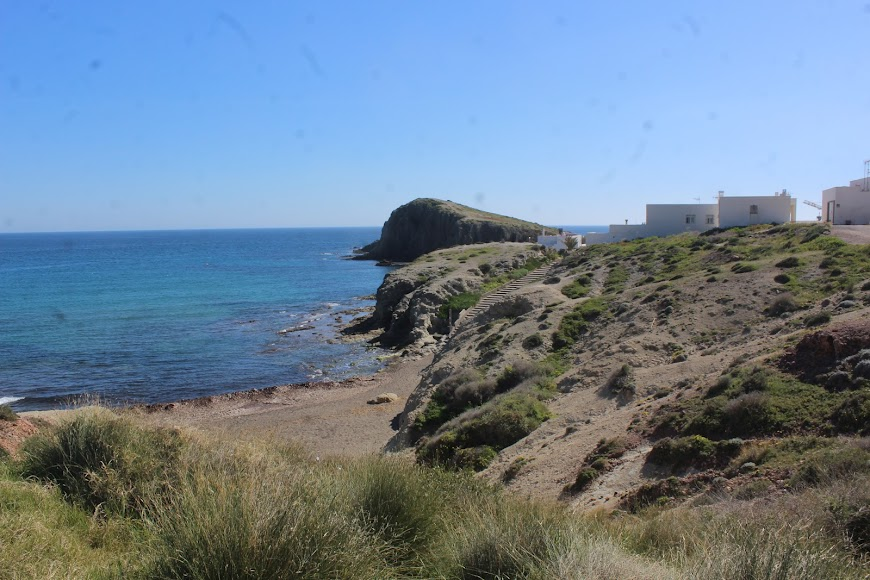 Parque Natural Cabo de Gata-Níjar, la Isleta del Moro.