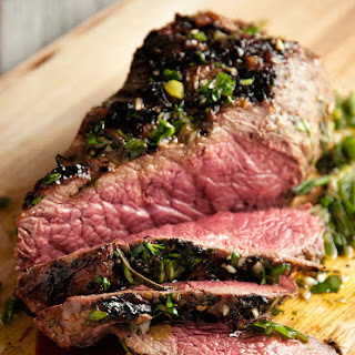Beef Sirloin With Fresh Herb Marinade