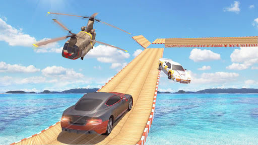 Mega Ramp Car Stunts Racing : Impossible Tracks 3D android2mod screenshots 24