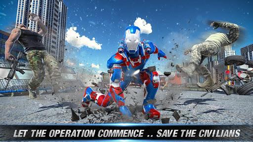 Flying Robot SuperHero Captain Hero Rescue Mission 1.0.1 screenshots 11