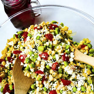 Succotash Salad.