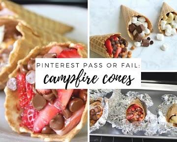 Pinterest Pass or Fail: Campfire Cones