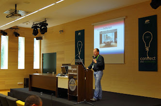 Photo: osc15 presentation, Bruno Friedmann