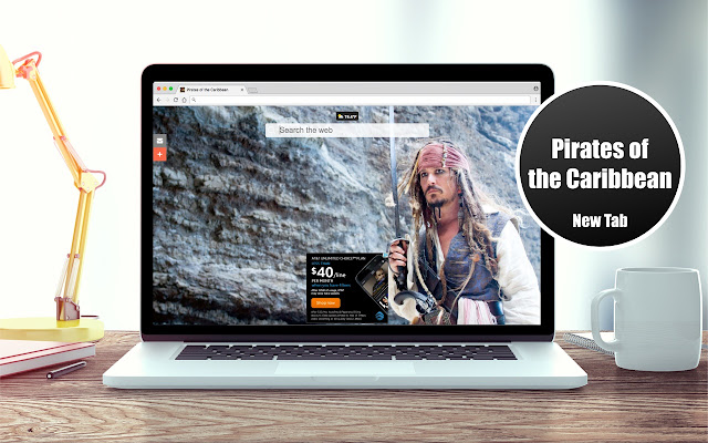 *NEW* HD Pirates of the Caribbean New Tab